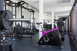 Gym of Grand Hotel by Scandic in Oslo