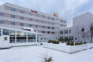 Hotelletfasade, Scandic Kirkenes