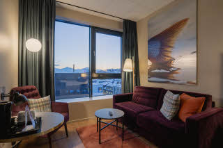 room twin superior at scandic grand tromso in norway