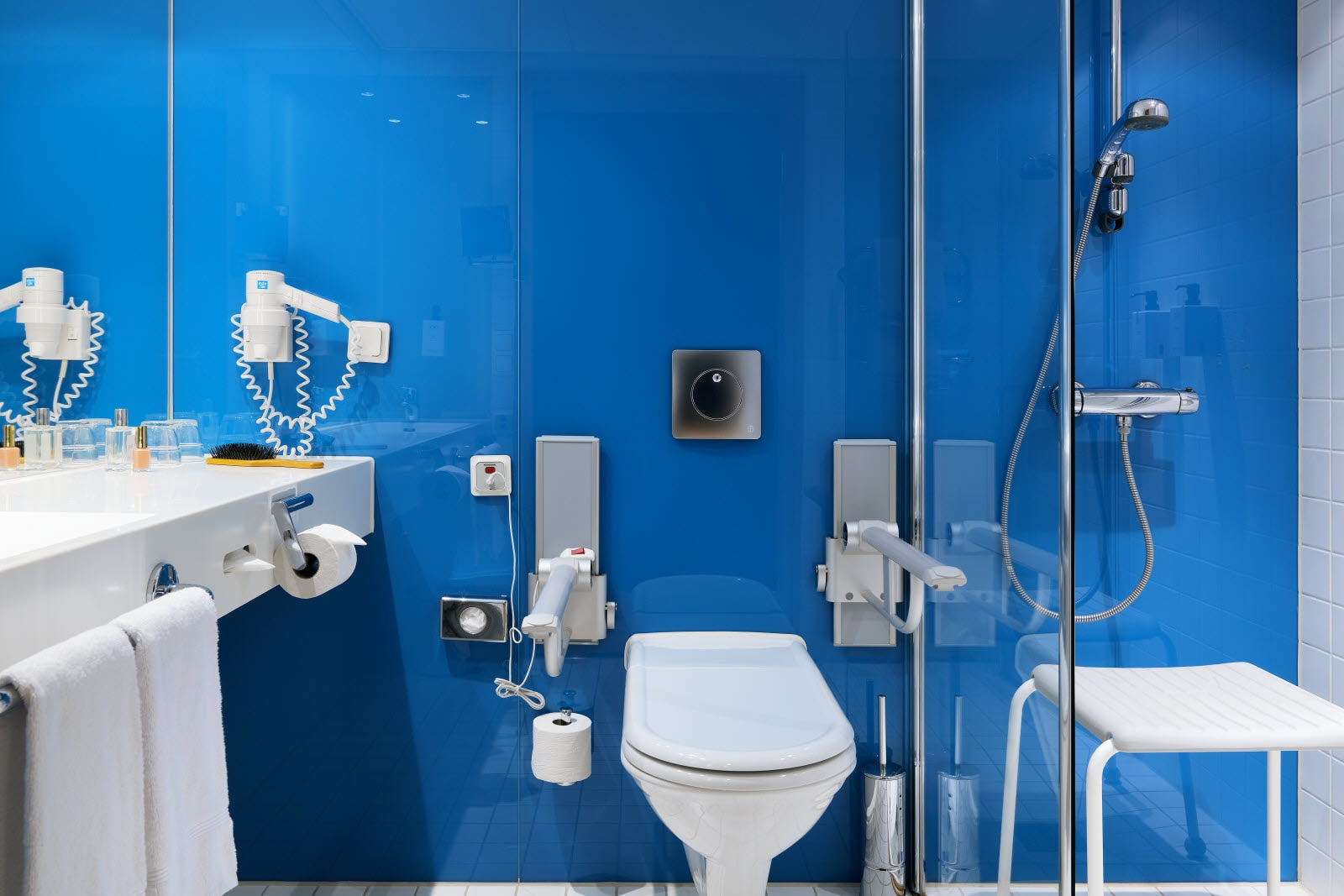 Scandic Talk, accessibility bathroom