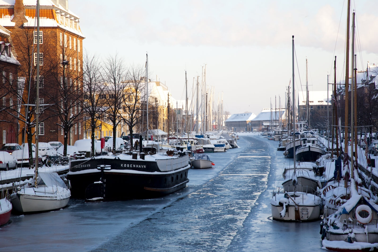 Winter at Christian's Habour