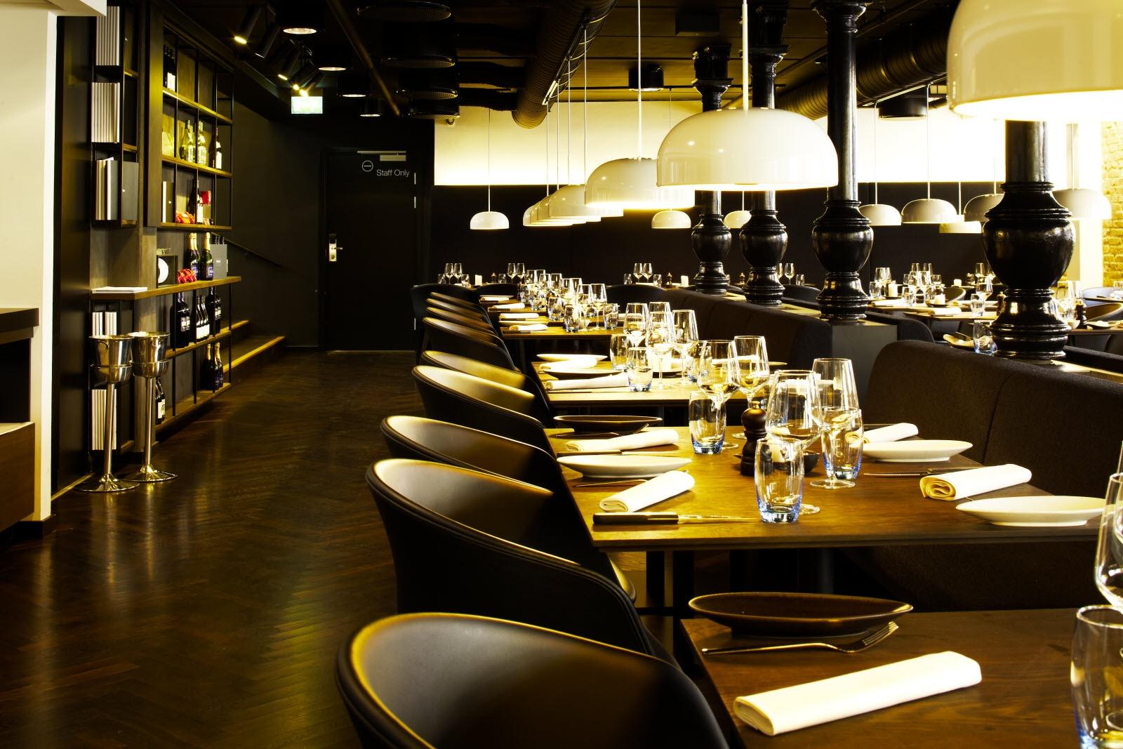 Restaurant og bar på scandic aarhus city i Århus
