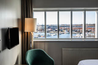 room superior queen at scandic sluseholmen in copenhagen
