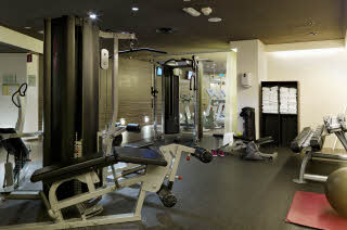 Gym of Scandic Anglais in Stockholm