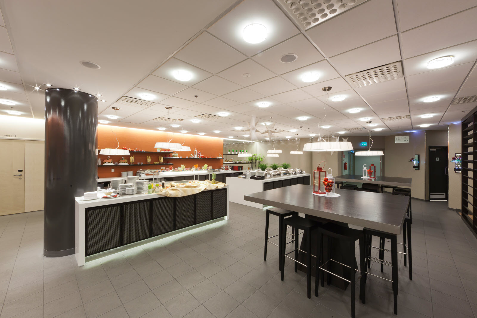 Scandic Julia, Resturant, Buffet area