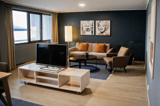 master suite at scandic alexandra molde in norway