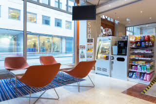 Lounge med Scandic Shop, Scandic Byparken