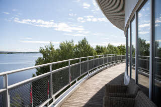 View from meeting room Pyhäjärvi