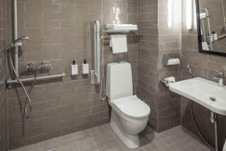 Bathroom in room Accessibility