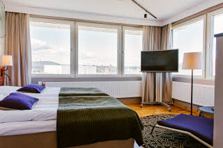 Scandic Elmia, room, suite