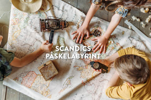 Scandics påskelabyrint