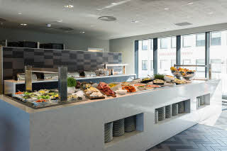Restaurantbuffet, Scandic Havet