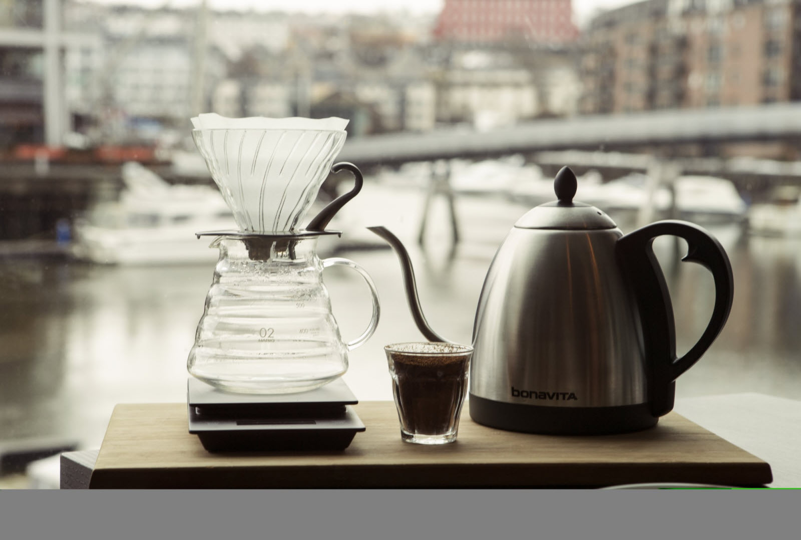 Hand brewed coffee. Photo credit: Christian Løken-Balder Film