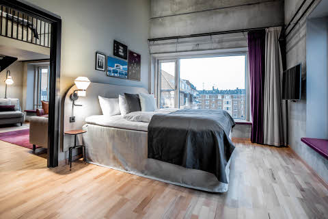 Master Suite of Scandic Kødbyen in Copenhagen