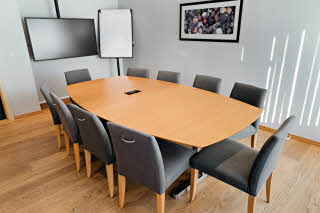 meeting room at scandic alexandra molde in norway