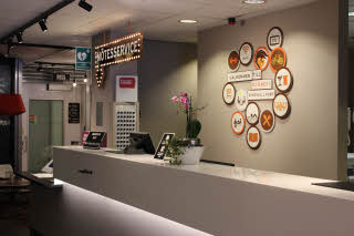Scandic Sundsvall Nord, Lobby, reception, Moby