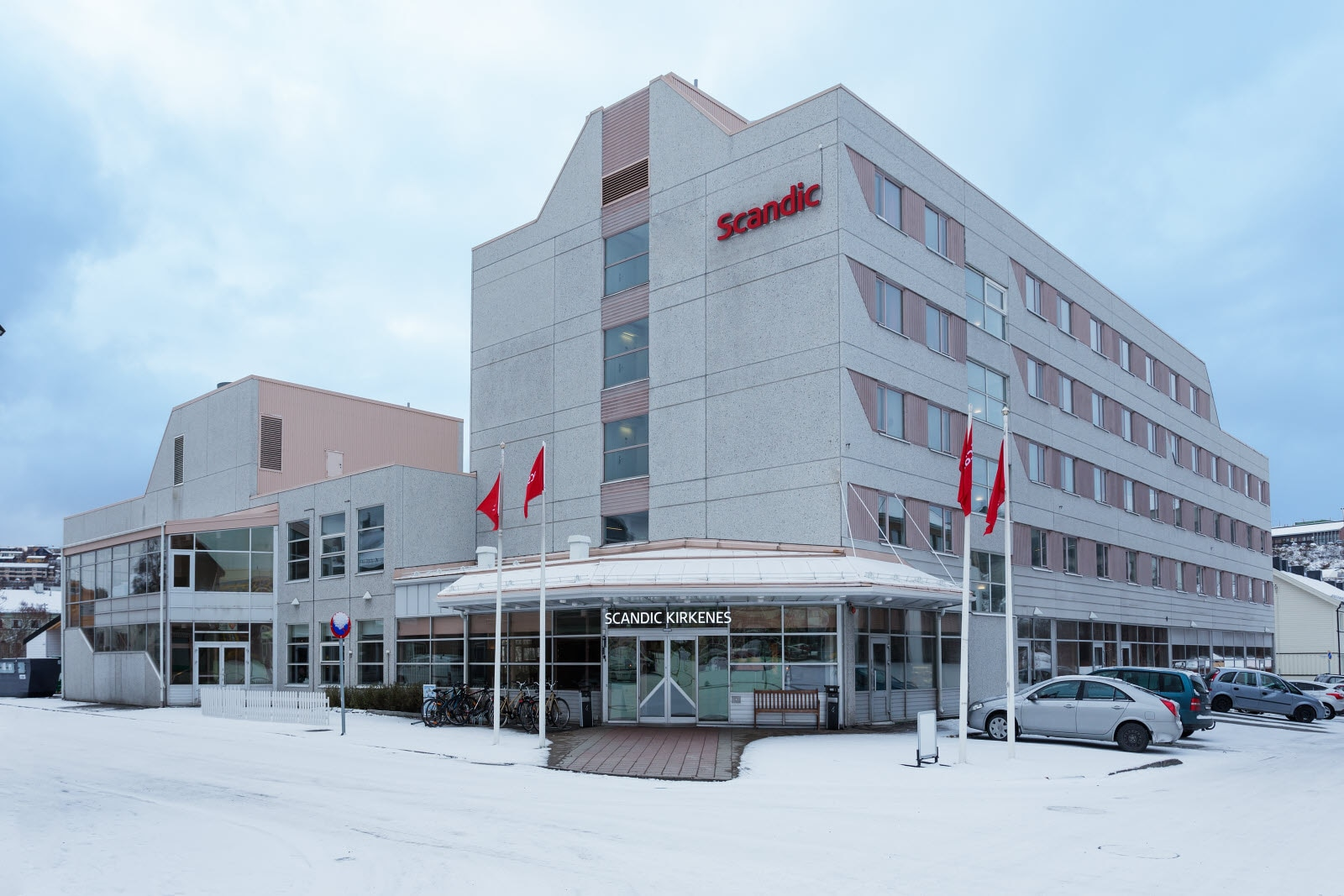Hotelletfasade,