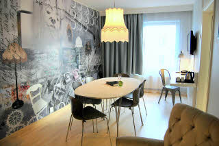 Scandic Malmen, Junior suite, meeting room