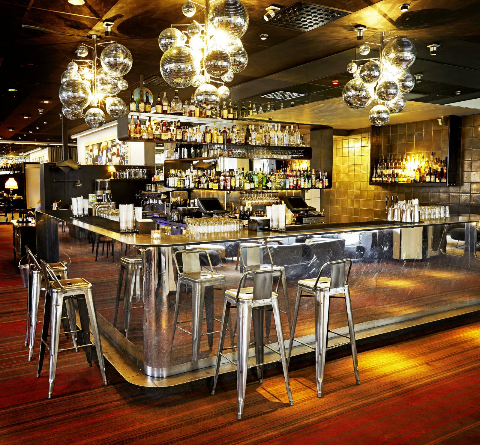 Scandic Malmen, cocktailbar, overview