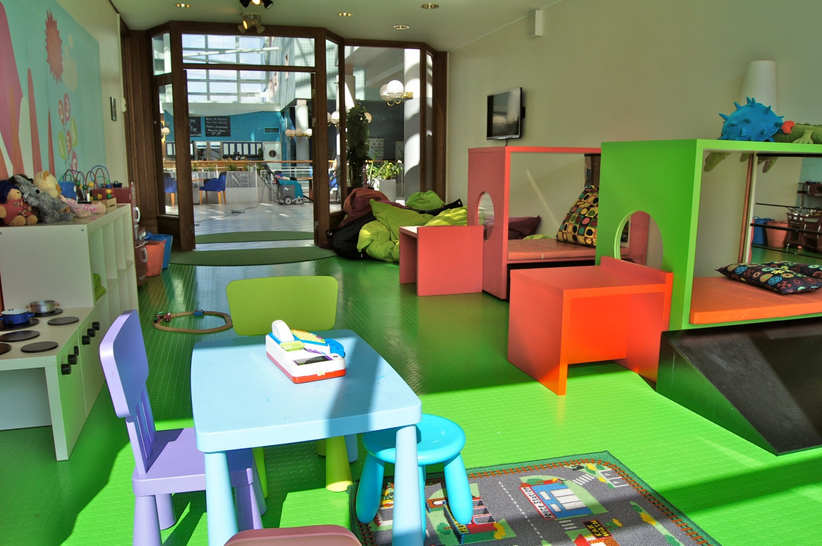 Scandic Ariadne, Sigge, childrens play area