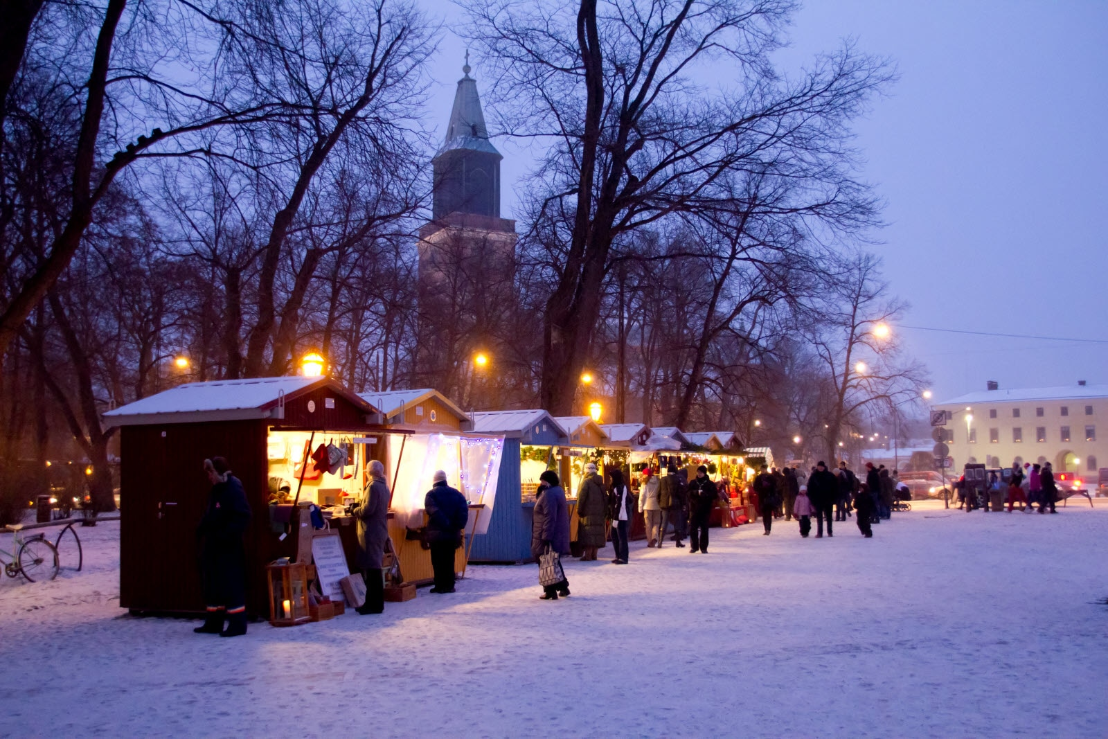 Christmas market in Turku
