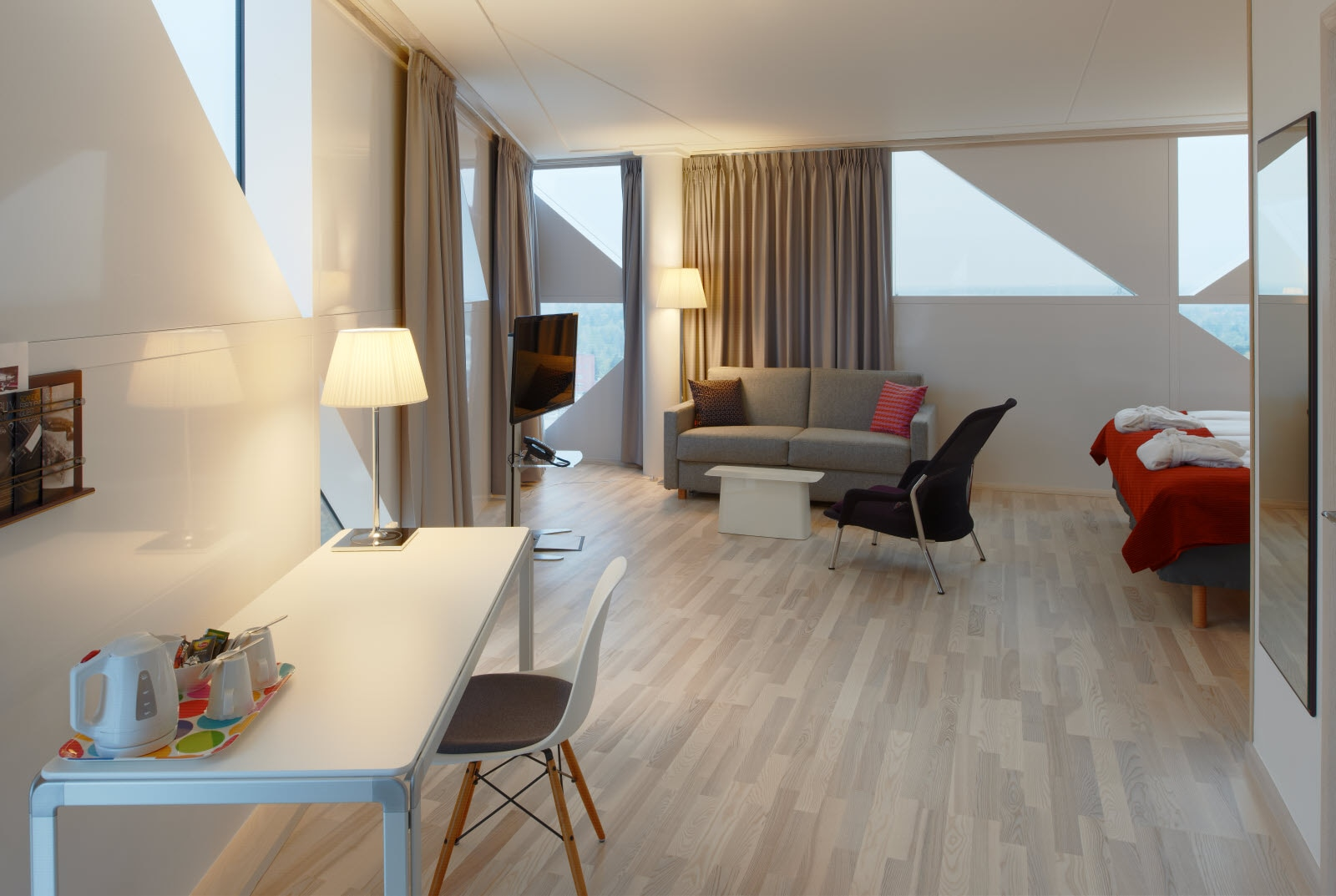 Scandic Victoria Tower, Room, Junior Suite, Family Room