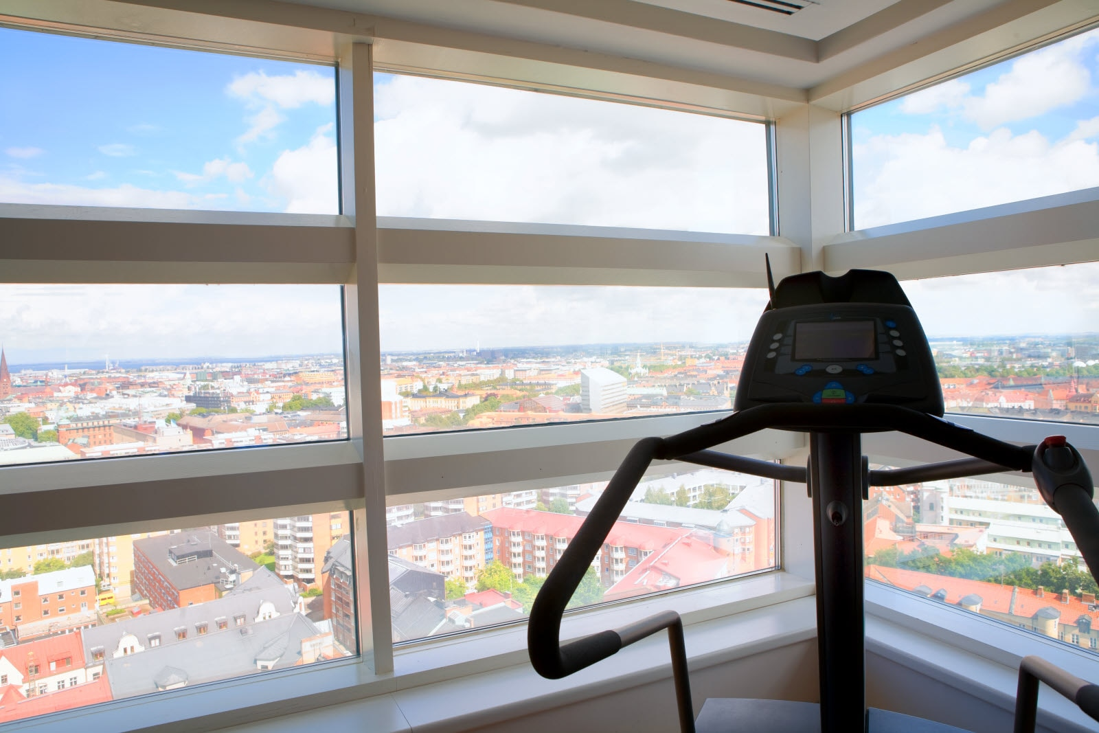 Scandic Triangeln, gym, view