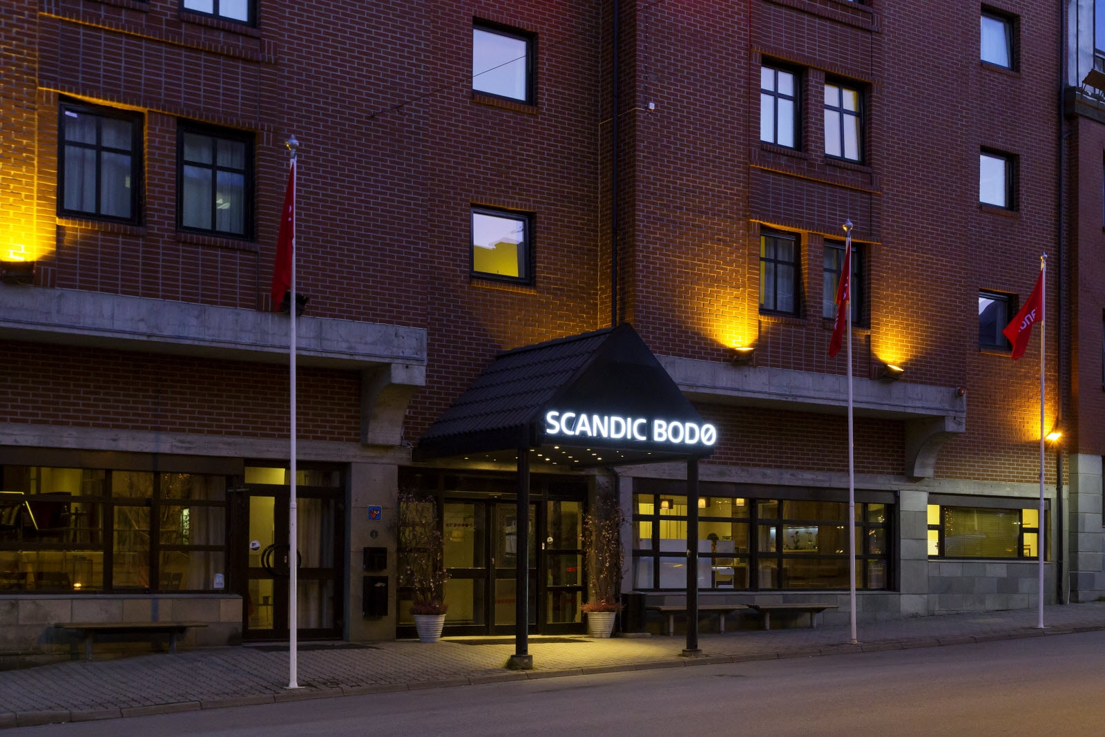 Scandic Bodo, Bodo, entrance, exterior
