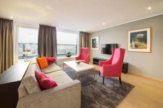 Lounge i Junior Suite, Scandic Nidelven