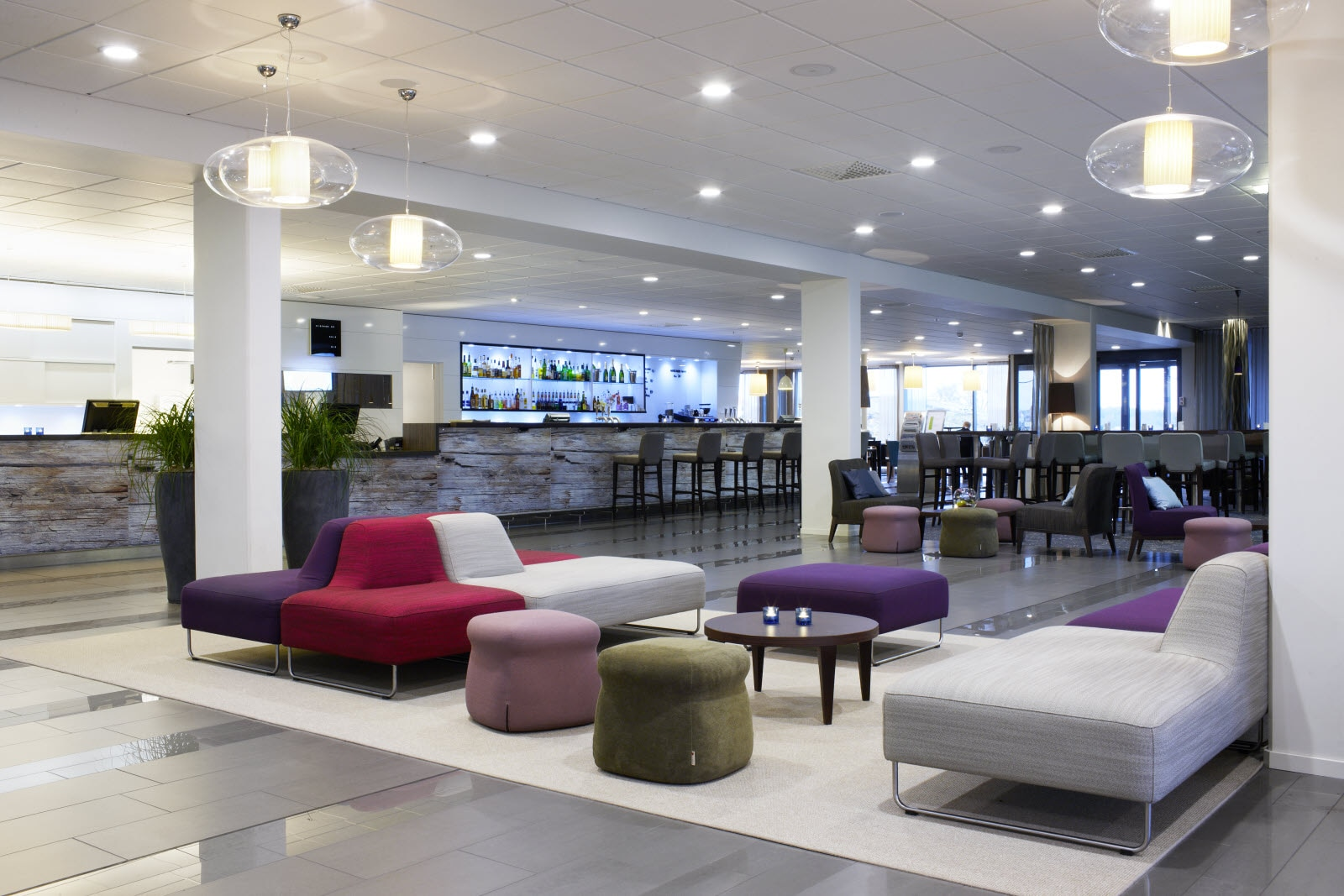Karlskrona, reception, lobby, lounge