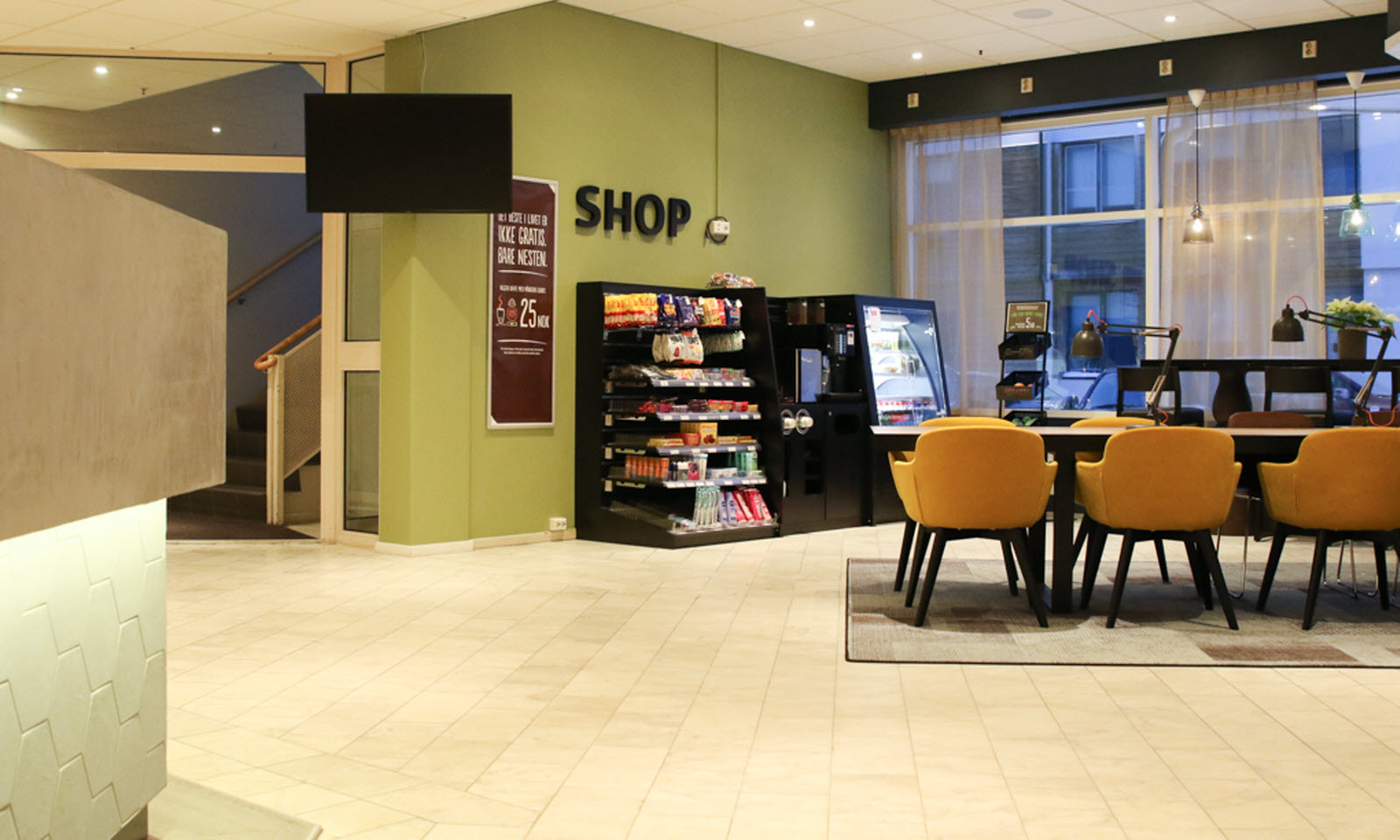 Shop in Lobby